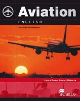Emery, Henry, Roberts, Andy, Goodman, Ruth - Aviation English for ICAO Compliance [With 2 CDROMs] - 9780230027572 - V9780230027572