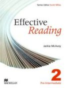 Mcavoy, J - Effective Reading Pre Int - 9780230029156 - V9780230029156