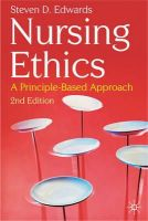 Edwards, Steven D - Nursing Ethics - 9780230205901 - V9780230205901