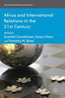 - Africa and International Relations in the 21st Century (International Political Economy) - 9780230235281 - V9780230235281