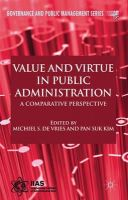 - Value and Virtue in Public Administration: A Comparative Perspective (Governance and Public Management) - 9780230236479 - V9780230236479