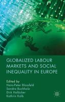 - Globalized Labour Markets and Social Inequality in Europe - 9780230241992 - V9780230241992