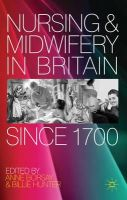 - Nursing and Midwifery in Britain Since 1700 - 9780230247031 - V9780230247031