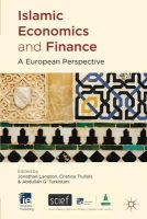 - Islamic Economics and Finance: A European Perspective (Ie Business Publishing) - 9780230300279 - V9780230300279