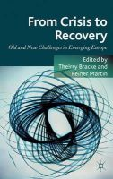 - From Crisis to Recovery: Old and New Challenges in Emerging Europe - 9780230355286 - V9780230355286
