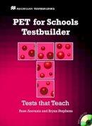 Aravanis, Rosemary, Stephens, Bryan - PET for Schools Testbuilder [With CDROM] (MacMillan Testbuilders) - 9780230407121 - V9780230407121