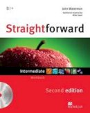Kerr, Philip - Straightforward Intermediate Level: Workbook Without Key + CD - 9780230423251 - V9780230423251