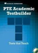 Taylore-Knowles, Ste, Mann, Malcolm - Pte Academic Testbuilder: Student's Book + Audio Pack (Macmillan Testbuilders) - 9780230427860 - V9780230427860