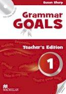 Sharp, Sue - American Grammar Goals: Level 1: Teacher's Book Pack - 9780230446137 - V9780230446137