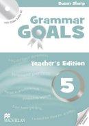Sue Sharp (author), Angela Llanas (author), Libby Williams (author) - American Grammar Goals: Level 5: Teacher's Book Pack - 9780230446410 - V9780230446410