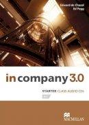Edward De Chazal (author), Ed Pegg (author) - In Company 3.0 Starter Level Class Audio CD - 9780230454927 - V9780230454927