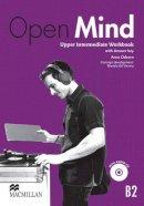 Anna Osborn - Open Mind British edition Upper Intermediate Level Workbook Pack with key - 9780230458406 - V9780230458406