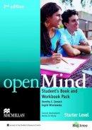 Zemach & Wisnieswka - openMind 2nd Edition AE Starter Student's Book & Workbook Pack - 9780230458895 - V9780230458895