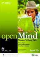 Rogers, Mickey, Taylore-Knowles, Joanne, Taylore-Knowles, Steve - Open Mind 2nd Edition AE Level 1B Student's Book Pack - 9780230459106 - V9780230459106