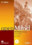 Wisniewska, Ingrid - Open Mind 2nd Edition AE Level 2 Workbook with Key & CD Pack - 9780230459502 - V9780230459502