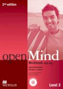 Wisniewska, Ingrid, Zemach, Dorothy E. - Open Mind 2nd Edition AE Level 3 Workbook with Key & CD Pack - 9780230459854 - V9780230459854