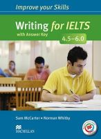 Mccarter, S, Whitby, N - Improve Your Writing Skills for Ielts 45 (Improve Your Skills) - 9780230462182 - V9780230462182