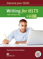 S Dimond-Bayir - Improve Your Writing Skills for Ielts 67 (Improve Your Skills) - 9780230463400 - V9780230463400