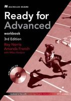 French, a, Norris, R - Ready for Advanced 3rd Edition Workbook - 9780230463592 - V9780230463592