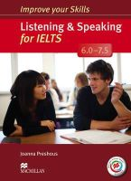 Preshous, Joanna - Improve Your Skills: Listening & Speaking for IELTS 6.0-7.5 Student's Book without Key & MPO Pack - 9780230467637 - V9780230467637