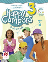 Acosta, Patricia, Padron, Angela - Happy Campers Level 3 Student's Book/Language Lodge - 9780230470729 - V9780230470729
