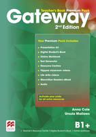 Cole, Anna, Mallows, Ursula - Gateway 2nd Edition B1+ Teacher's Book Premium Pack - 9780230473164 - V9780230473164