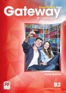 Spencer, David - Gateway B2 Students Book Pack 2nd Edition - 9780230473188 - V9780230473188