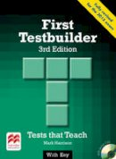 Harrison, Mark - First Testbuilder 3rd Edition Student's Book with Key Pack - 9780230476110 - V9780230476110