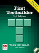 Harrison, Mark - First Testbuilder 3rd Edition Student's Book Without Key Pack - 9780230476127 - V9780230476127