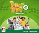 Mark Ormerod, Carol Read - Tiger Time Level 4 Audio CD - 9780230483743 - V9780230483743