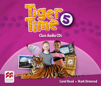 Read, Carol, Ormerod, Mark - Tiger Time Level 5 Audio CD - 9780230483798 - V9780230483798