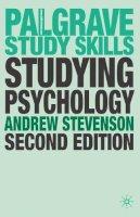 Stevenson, Andrew - Studying Psychology (Palgrave Study Guides) - 9780230517820 - V9780230517820