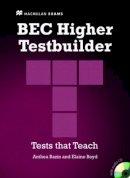 Allsop, Jake - Bec Testbuilder Higher: Student Book Pack - 9780230717039 - V9780230717039