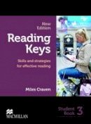 Craven, Miles - Reading Keys New Edition 3 Student Book: Skills and Strategies for Effective Reading - 9780230724853 - V9780230724853
