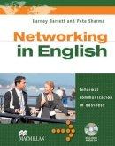 Sharma, Pete, Barrett, Barney - Networking in English: Student Book + Audio CD - 9780230732506 - V9780230732506
