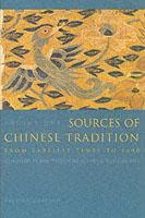 William Theodore De Bary, Irene Bloom, Joseph Adler - Sources of Chinese Tradition - 9780231109390 - V9780231109390