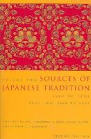 de Bary, Compiled - Sources of Japanese Tradition - 9780231139199 - V9780231139199