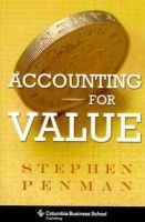 Penman, Stephen - Accounting for Value (Columbia Business School Publishing) - 9780231151184 - V9780231151184