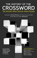 John Halpern - The History of the Crossword: The World's Most Famous Word Puzzle - 9780233004914 - KCG0000513