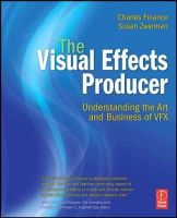 Finance, Charles L.; Zwerman, Susan - The Visual Effects Producer - 9780240812632 - V9780240812632