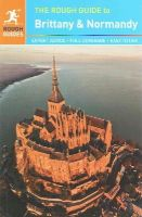 Ward, Greg, Rough Guides - The Rough Guide to Brittany and Normandy - 9780241009741 - V9780241009741