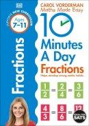 Vorderman, Carol - 10 Minutes a Day Fractions - 9780241182321 - V9780241182321