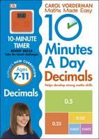 Vorderman, Carol - 10 Minutes a Day Decimals - 9780241182338 - V9780241182338