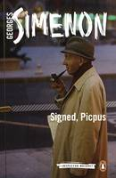 Simenon, Georges - Signed, Picpus (Inspector Maigret) - 9780241188460 - V9780241188460