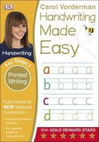 Vorderman, Carol - Handwriting Made Easy Printed Writing KS1 - 9780241198674 - V9780241198674