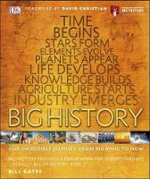 Dk - Big History: Our Incredible Journey, from Big Bang to Now (Dk) - 9780241225905 - V9780241225905