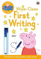 Peppa Pig - Peppa Pig: Practise with Peppa: Wipe-Clean Handwriting - 9780241254028 - 9780241254028