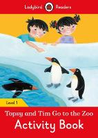 Ladybird - Topsy and Tim: Go to the Zoo Activity Book – Ladybird Readers Level 1 - 9780241254233 - V9780241254233