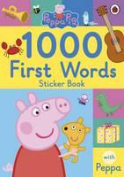 - Peppa Pig: 1000 First Words Sticker Book - 9780241294642 - 9780241294642