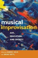 Gabriel Solis - Musical Improvisation - 9780252076541 - V9780252076541